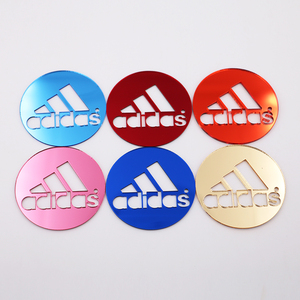 Customized Favors Gifts Mirror Compact Laser Cutting Logo