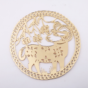 Chinese Zodiac Acrylic Mirror Decoration