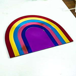 Acrylic Wall Decoration - Rainbow